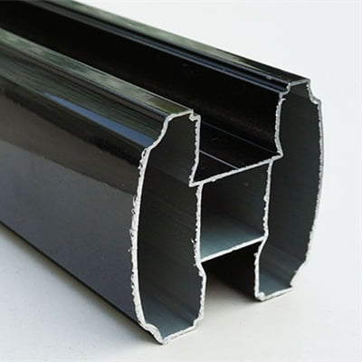 Black Tube Head Rail 400x400
