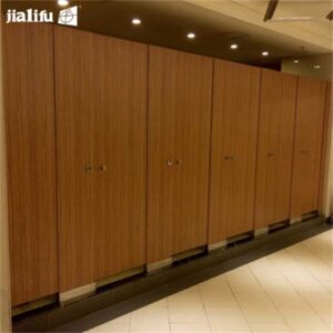 compact laminate toilet cubicle