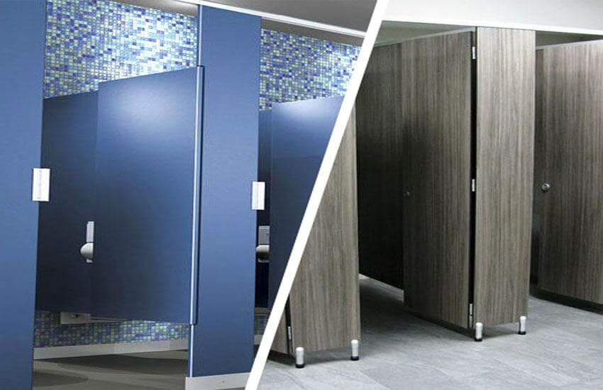 European Style Toilet Partitions Vs American Style Toilet