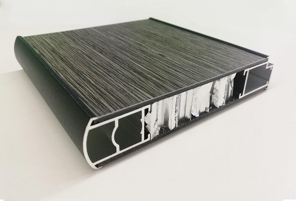 HPL Sandwich Panel Black Edge