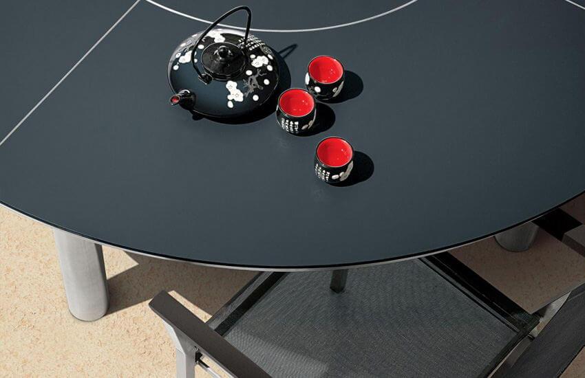 Restaurant Table Tops Black