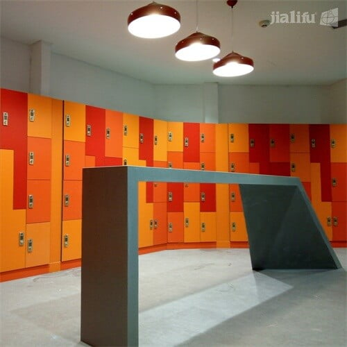 Tecent Co-Working Space Lockers