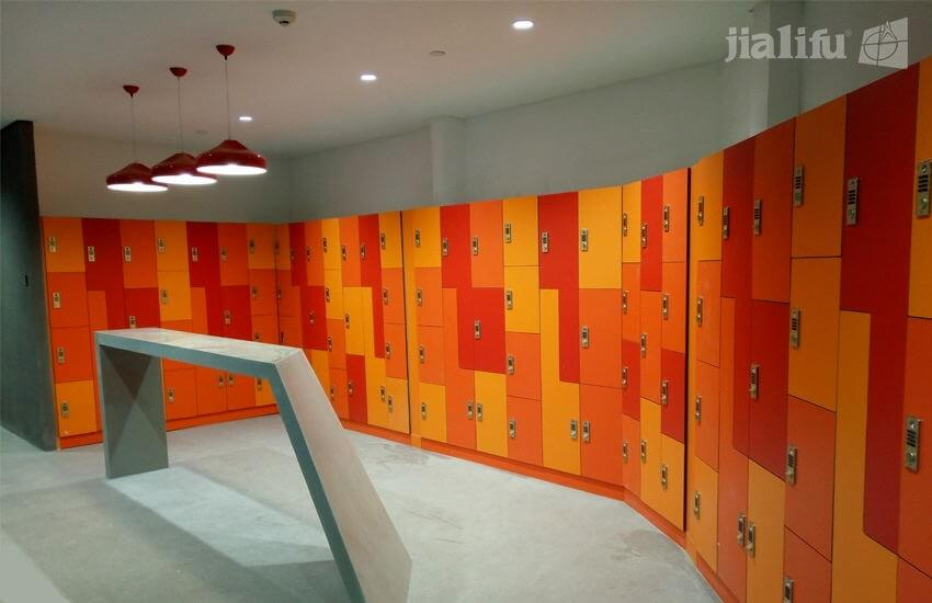 Tencent Co-Working Space Staff Lockers