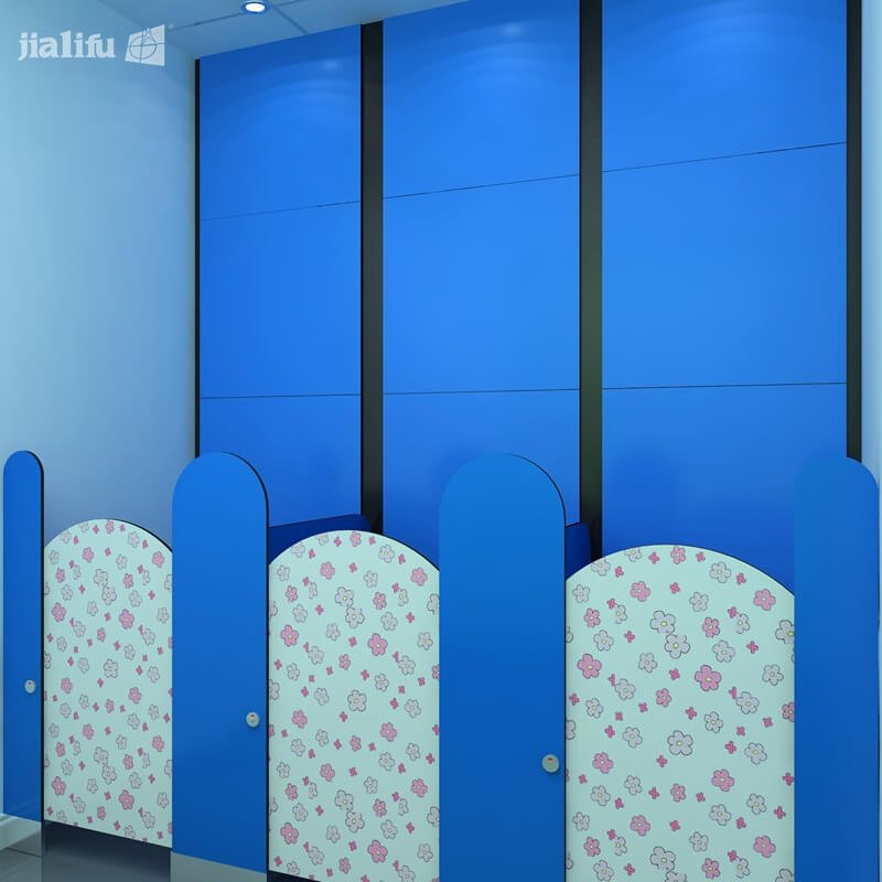 Blue School Cubicle