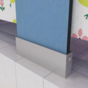 jialifu nursery school toilet cubicle shoe box