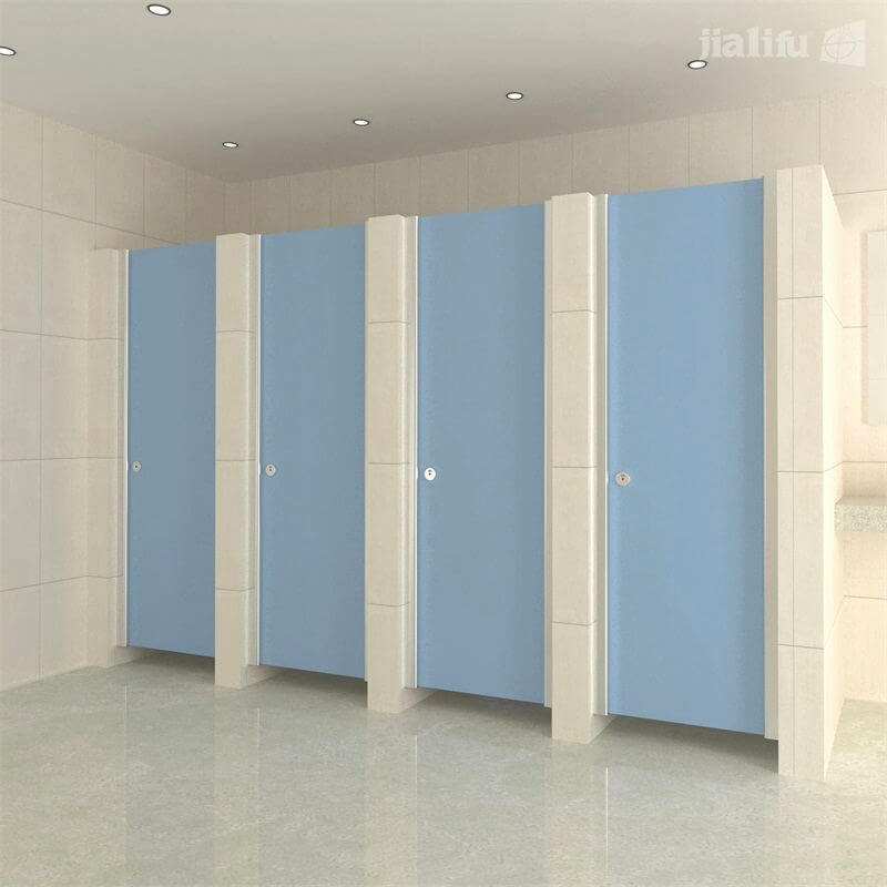 Single Alcove Bathroom Partitions Toilet Cubicle Doors   Jialifu