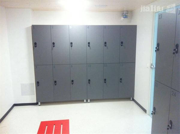 Gray Lockers