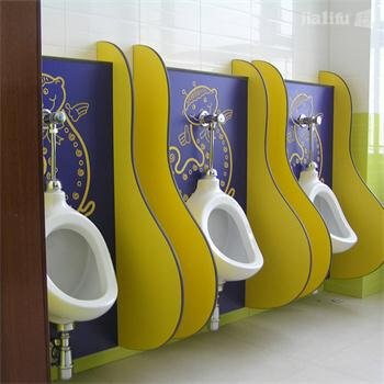 Kids HPL Urinal Partitions