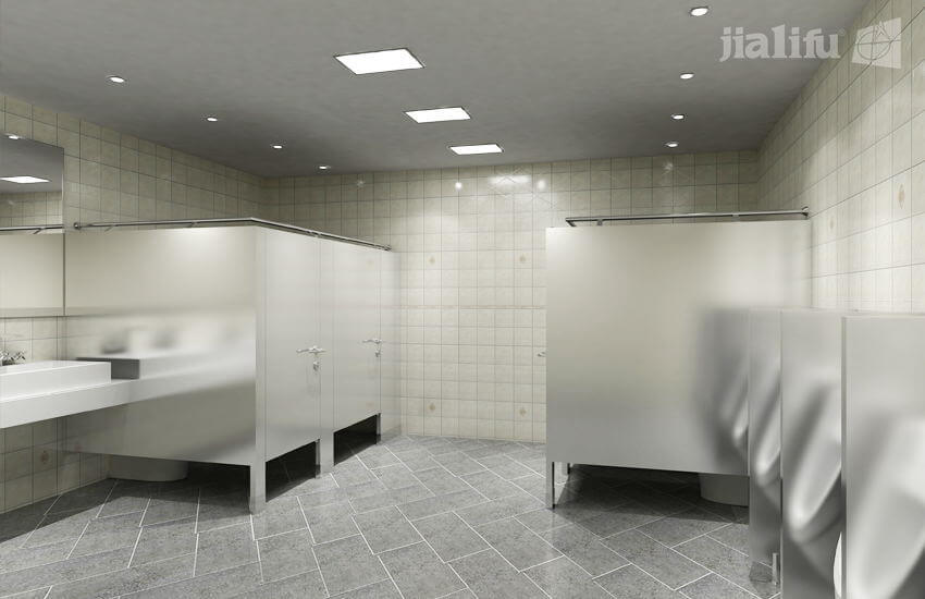Stainless Steel Bathroom Partitions-