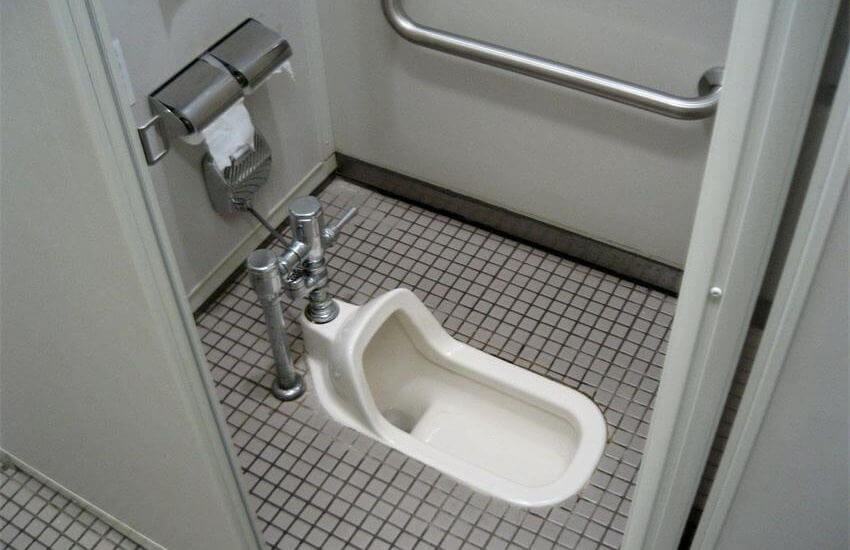 Using Squatting Toilet