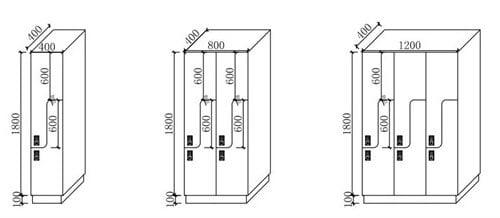 Beverly Hot Spring Locker System,