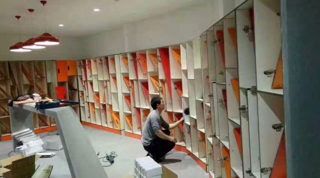 Renovating Lockers