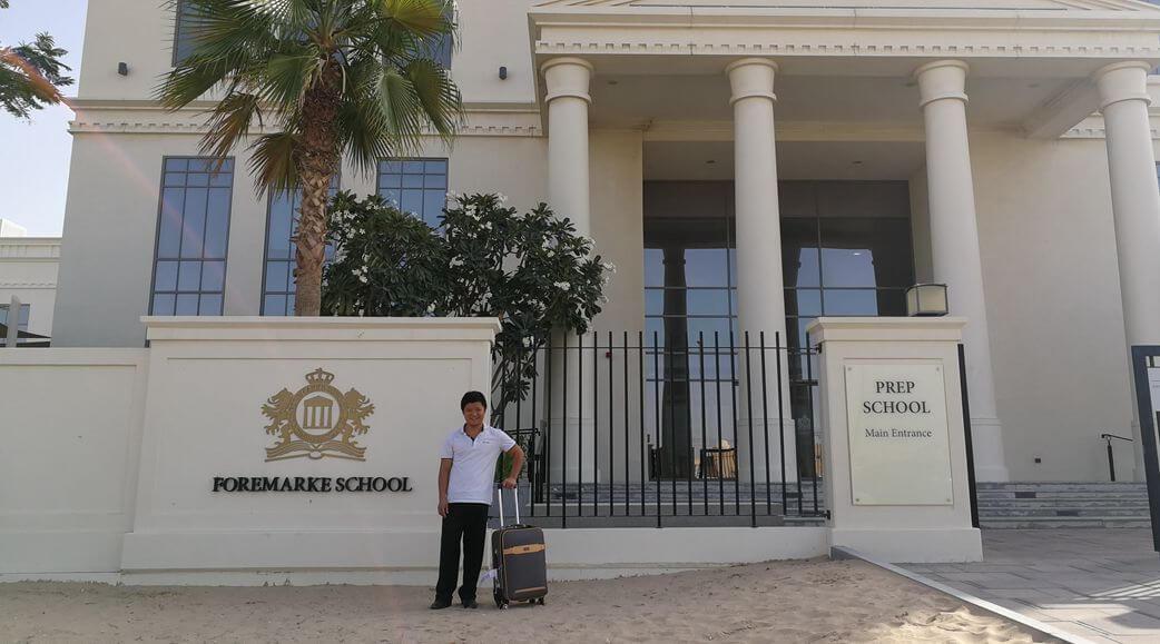 Project for Repton School Dubai