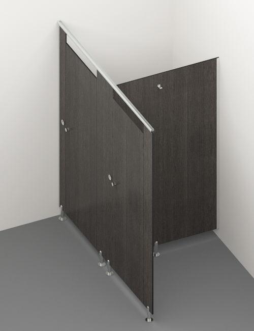 compact laminate toilet cubicle 2
